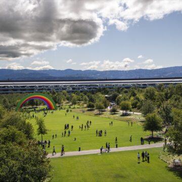 Apple ha un'applicazione per esplorare Apple Park
