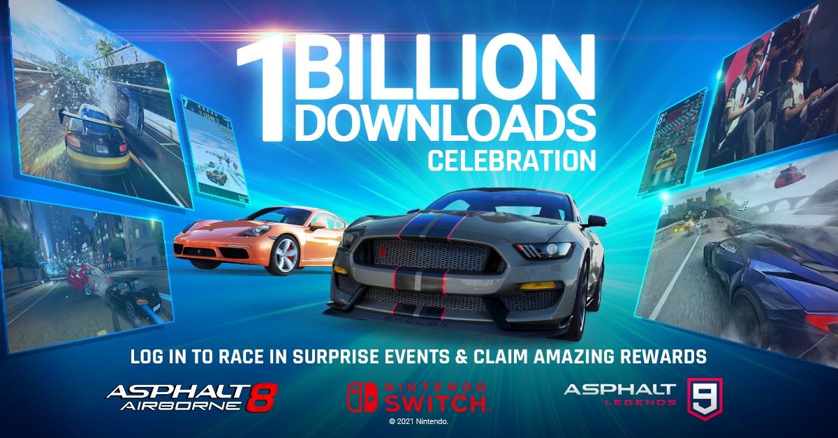 Asphalt supera il miliardo di download su tutte le piattaforme