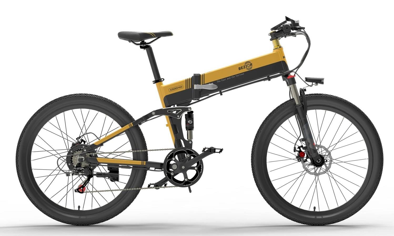 BEZIOR X500 PRO, la mountain bike elettrica definitiva con codice sconto a 829 euro