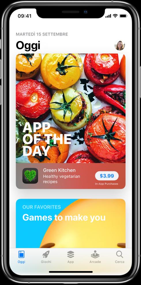 I suggerimenti di ricerca nell'App Store