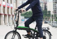 FAFREES è la bici elettrica pieghevole con motore da 250W, in offerta a 733 euro