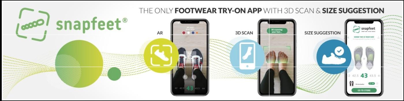 Crowdfunding: Snapfeet pronta a lanciare l'app delle calzature nel mondo