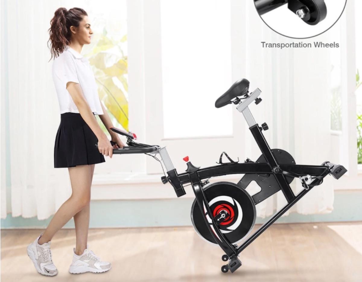 La cyclette da interni YS-S05 con display LCD in offerta a 198 euro