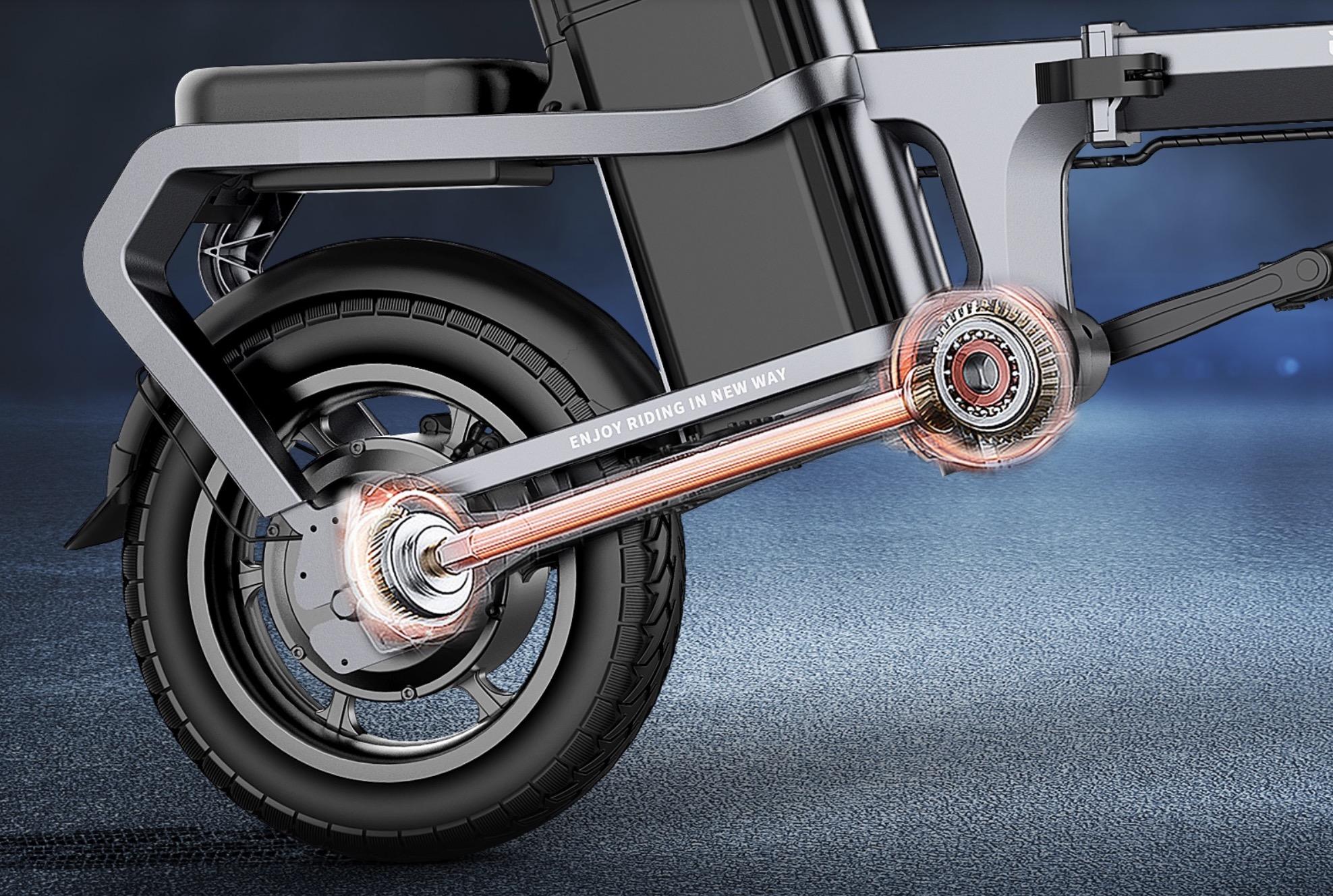 ENGWE X5S, bici elettrica pieghevole senza catena in super offerta