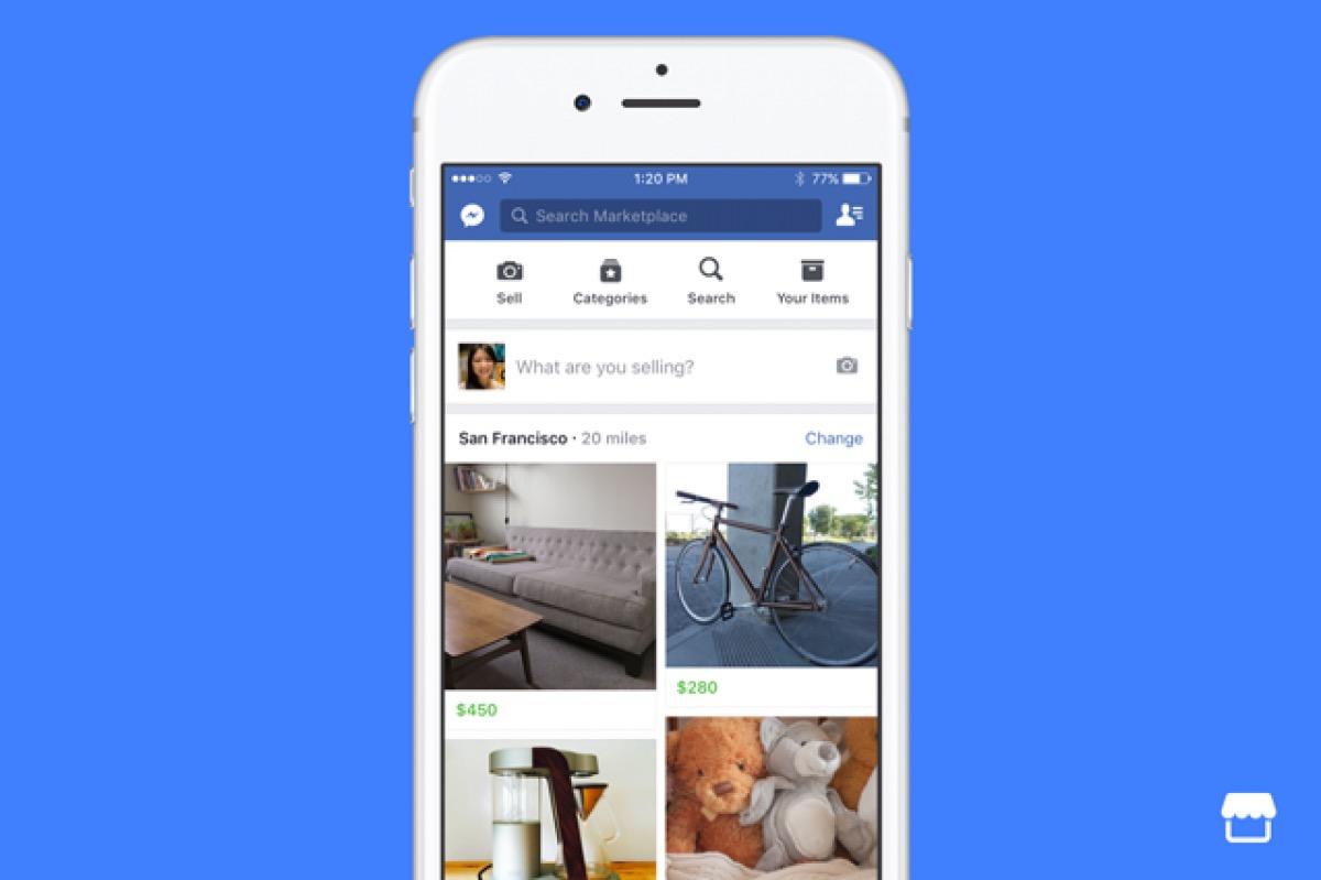 Facebook Marketplace ha 1 miliardo di utenti