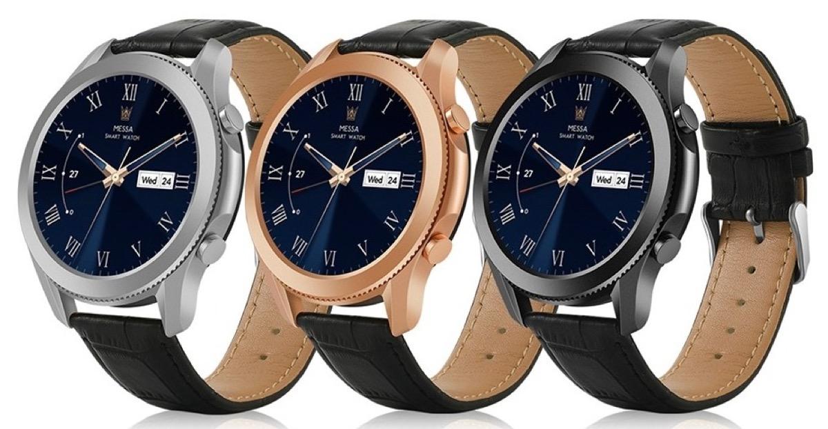 Gocomma W3, lo smartwatch elegante con autonomia fino a 30 giorni