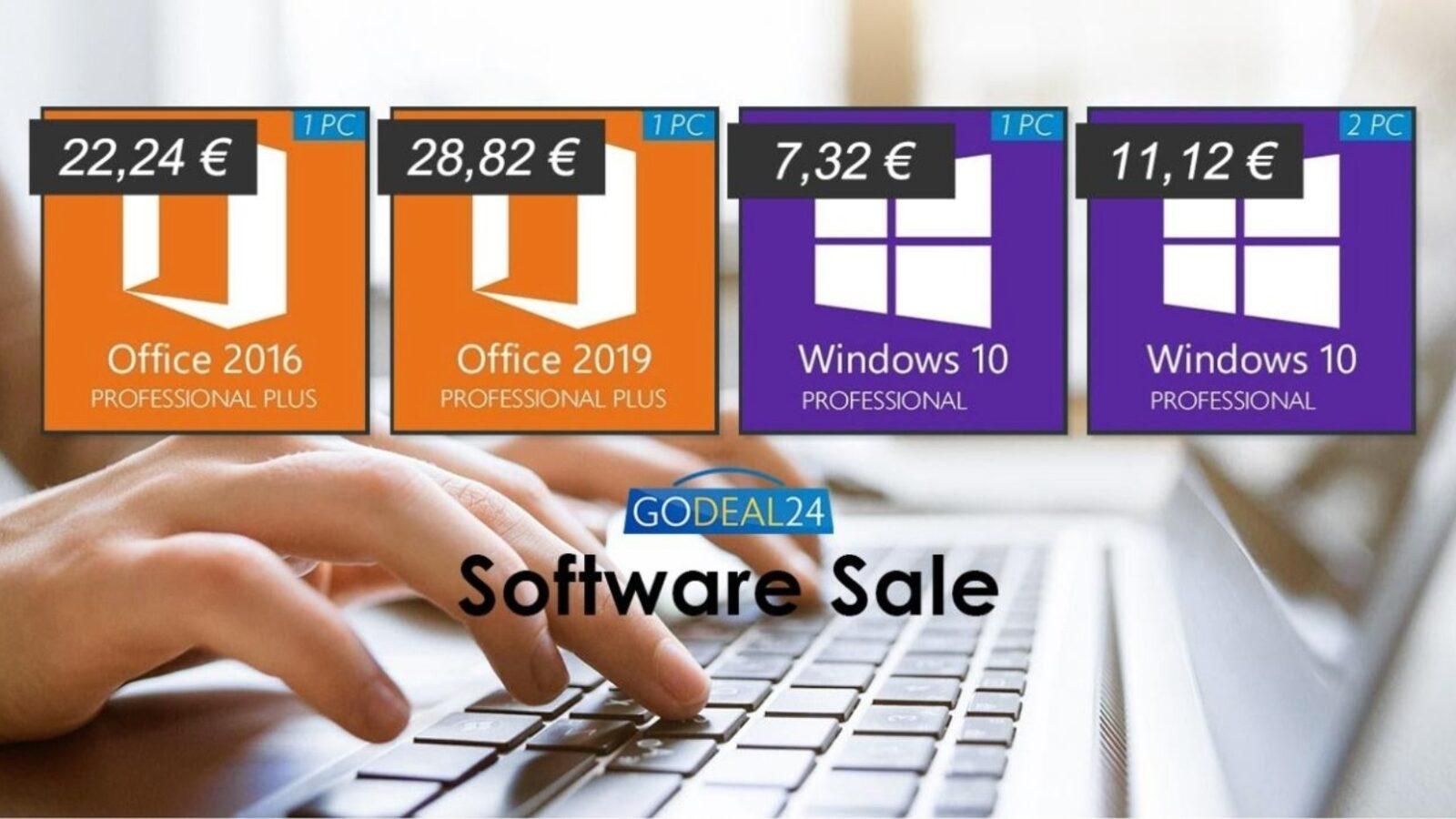 Solo 5 € licenza Microsoft Windows 10 a vita, Office a soli 22 €