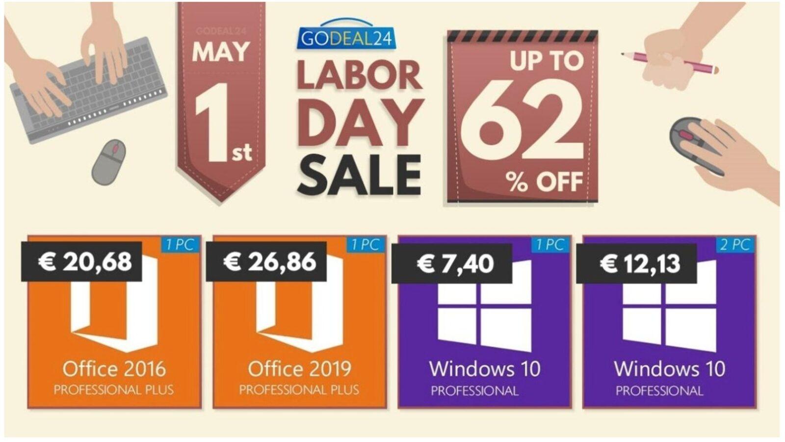 Solo 6 € licenza Microsoft Windows 10 a vita, Office a soli 20 €