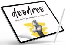 Doodroo festeggia arrivo e compatibilità di iPad Pro M1 con la spedizione gratuita