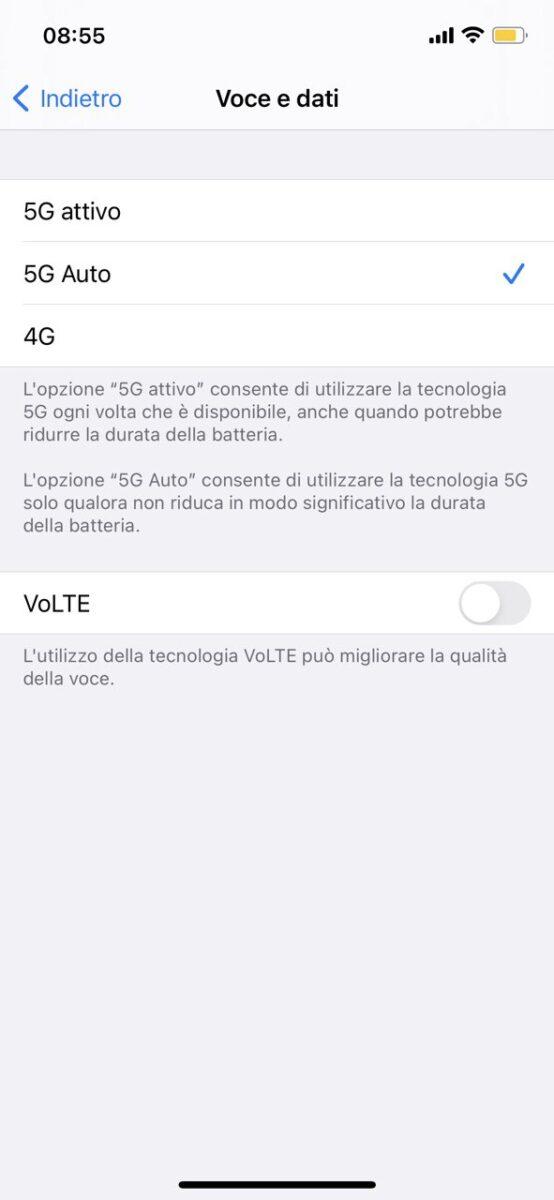 Iliad 5G ora funziona anche con iPhone 12