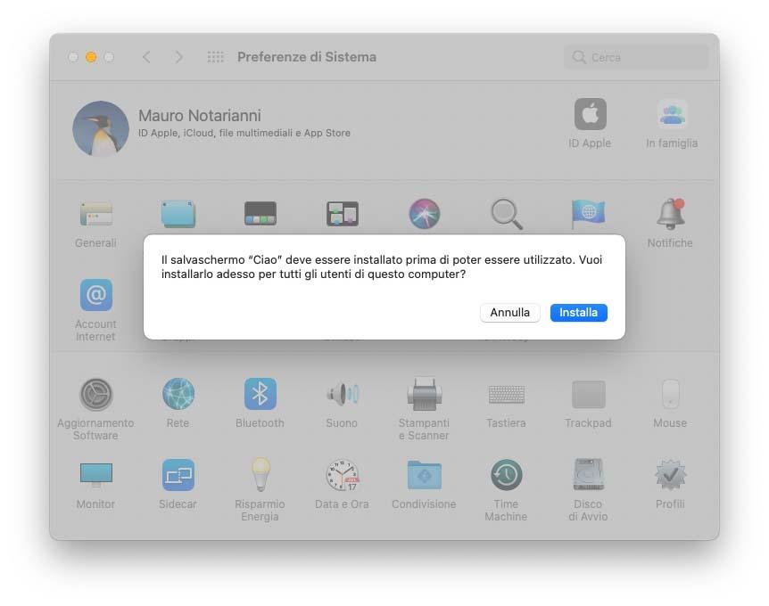 In macOS Big Sur 11.3 c'è un nuovo salvaschermo