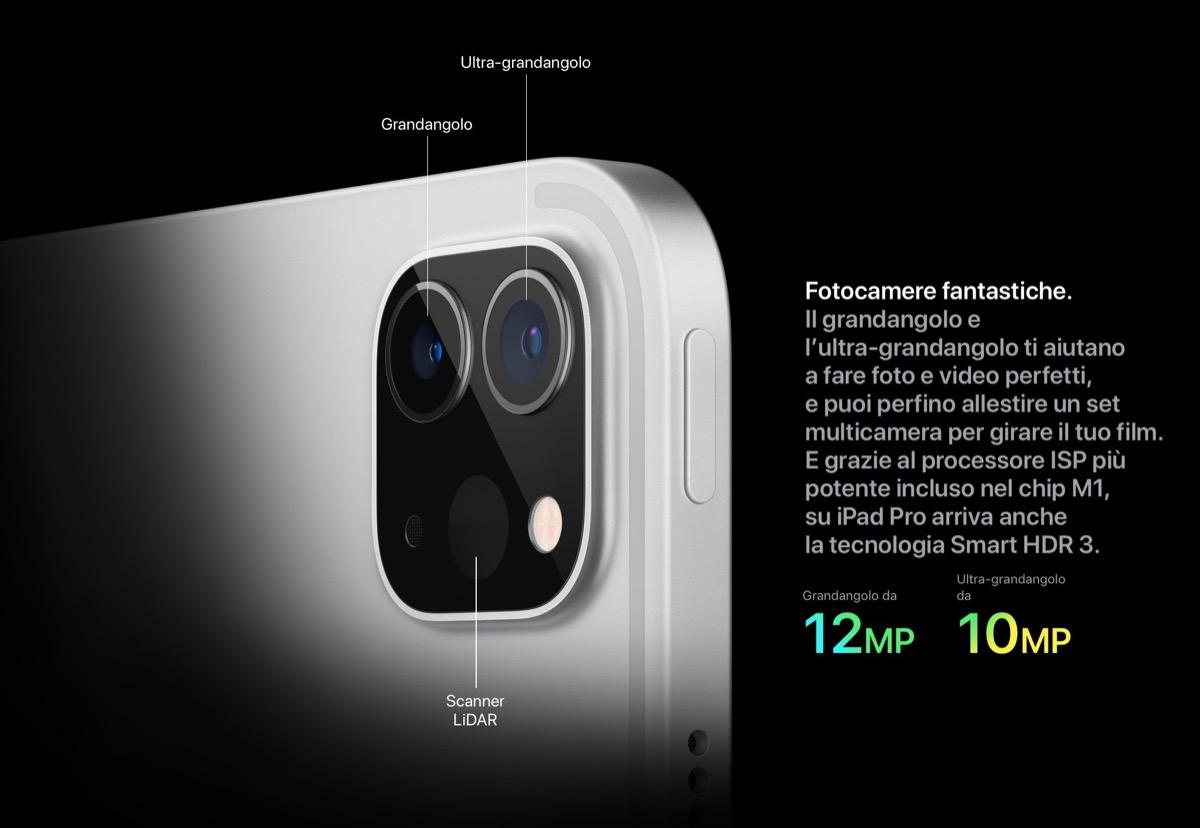 Tutto sulle nuove fotocamere di iPad Pro 2021