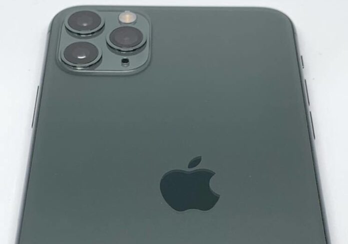 iPhone 11 Pro con logo Apple sbagliato è una chicca per collezionisti