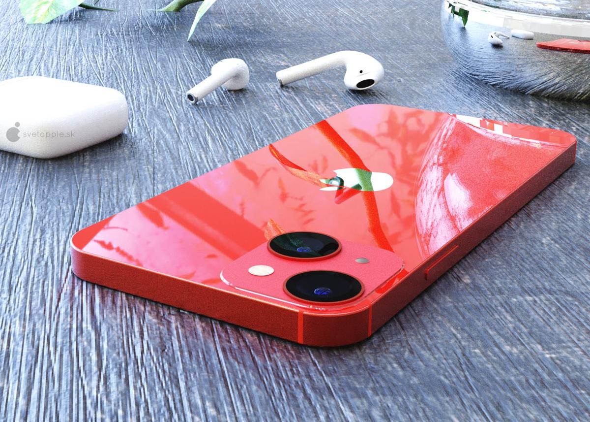 iPhone 13 mini è già uno spettacolo nei rendering