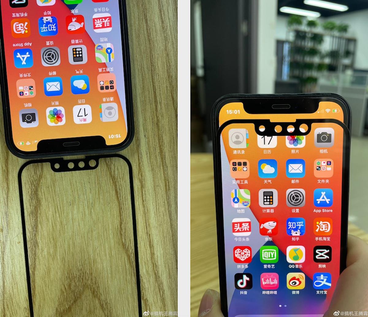 Nuove foto iPhone 13 potrebbe essere più piccolo di iPhone 12