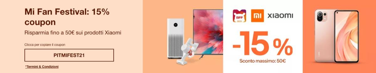 eBay sconta fino a 50 euro i prodotti Xiaomi, offerte imperdibili