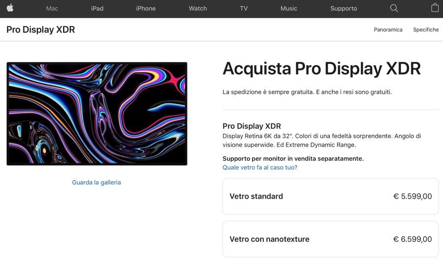 """Apple taglia il prezzo di nanotexture per iMac 27"""""""