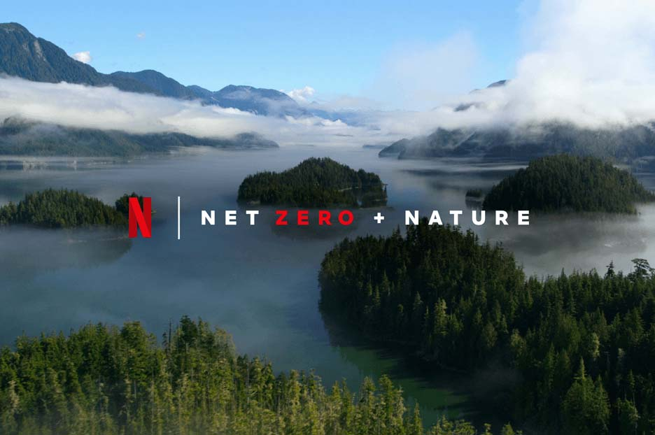 Netflix promette di ridurre la sua impronta ecologica entro il 2022