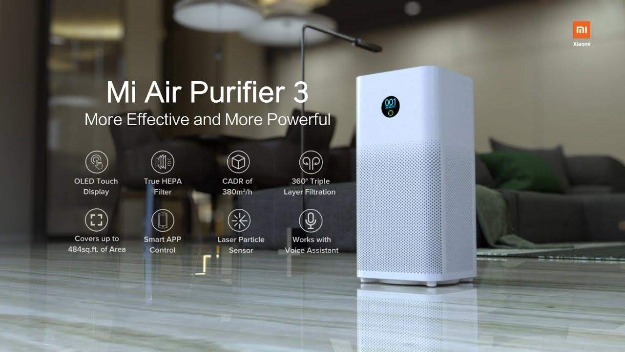 Xiaomi presenta Mi Air Purifier 3H 105,40 euro