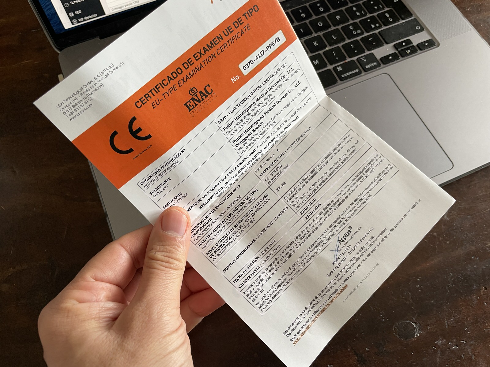 Mascherine FFP2 certificate e comode: solo oggi meno di 0,80€ l'una