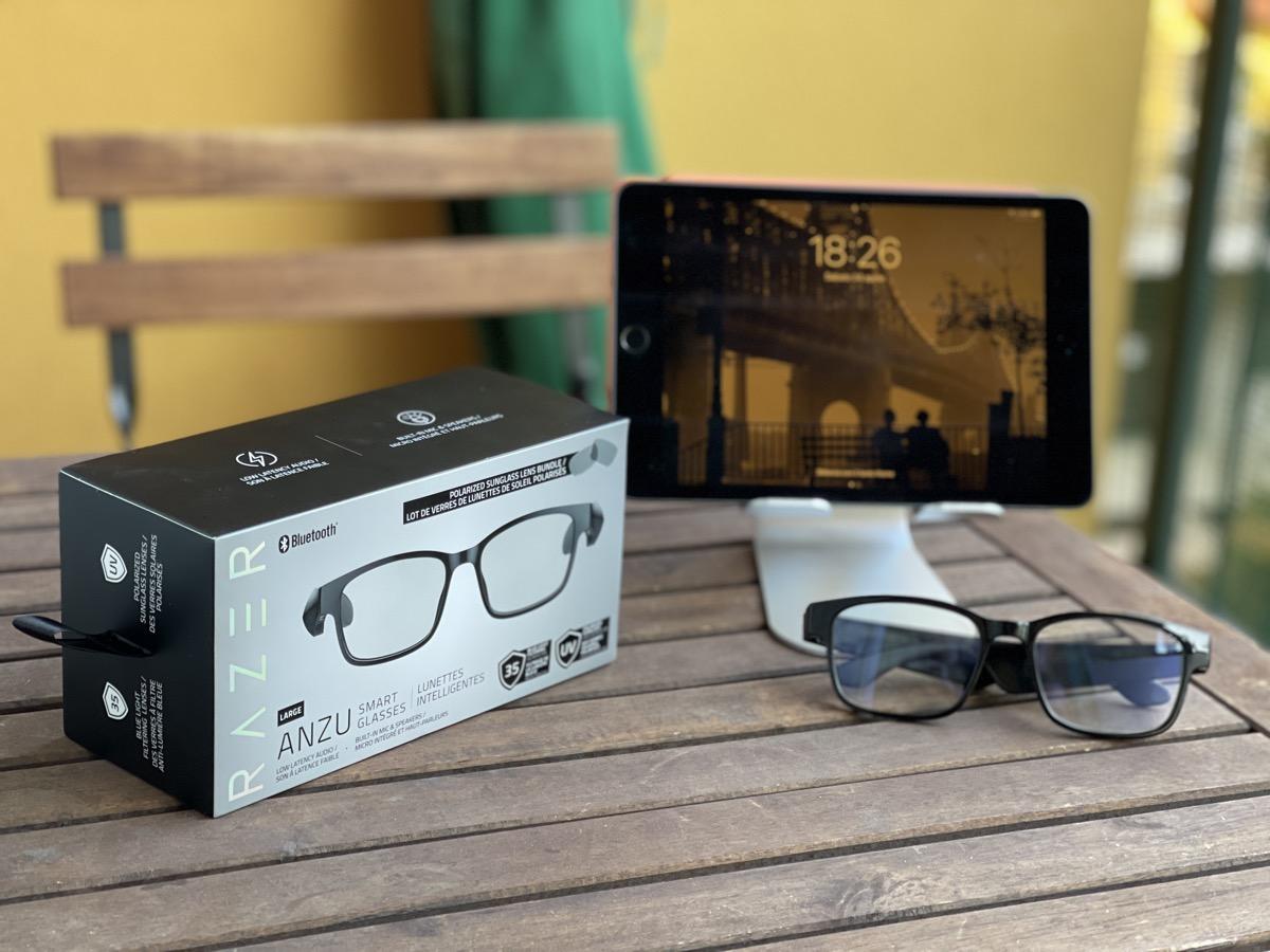 Prova Razer Anzu, occhiali smart per proteggere vista e udito