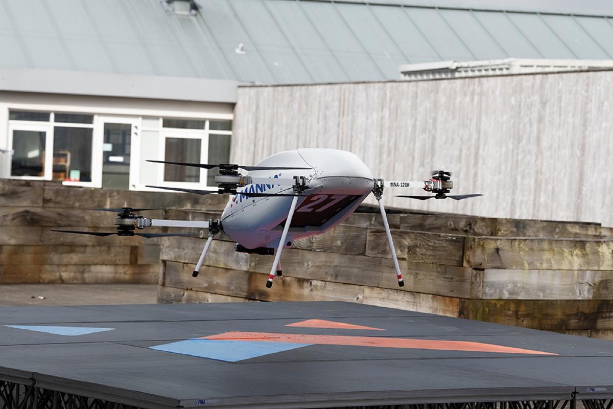 samsung consegne via drone
