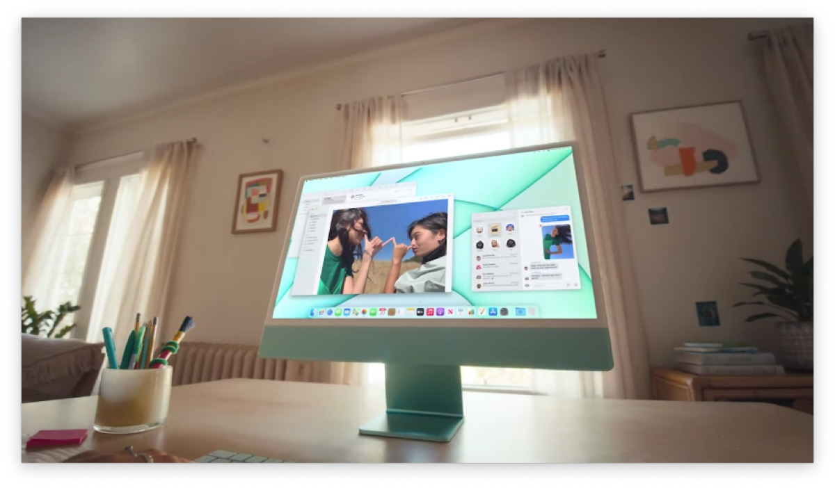 Apple rivoluziona l'iMac: processore M1 e nuovo design