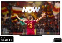 Sky porta l'app NOW su Apple TV
