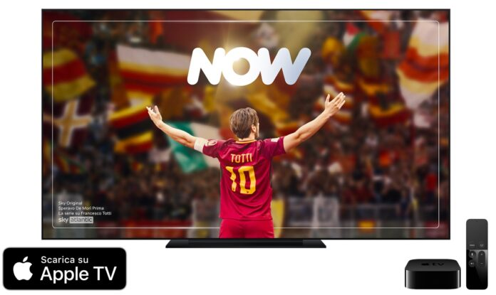 Sky porta l'app NOW su Apple TV