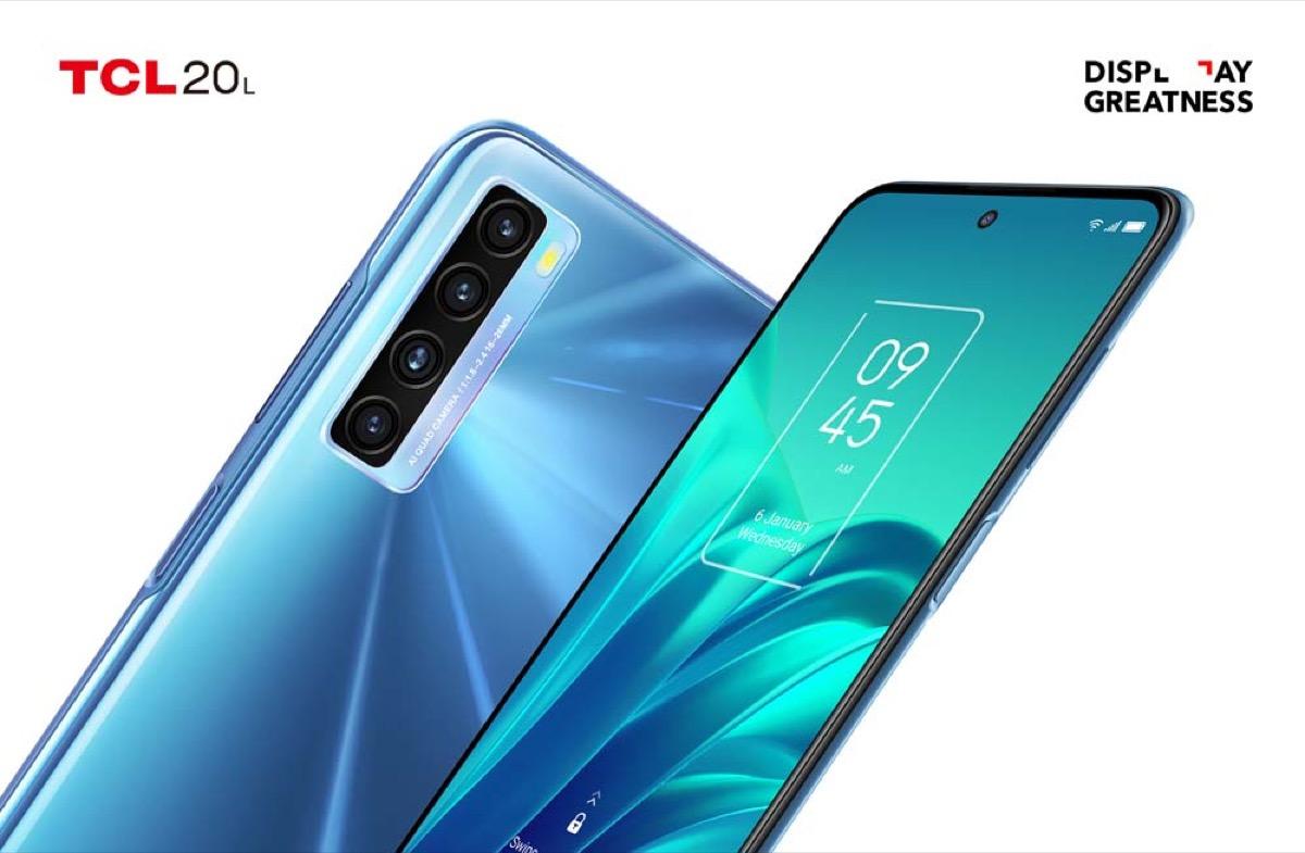 TCL espande la Serie 20 con tre nuovi smartphone intelligenti