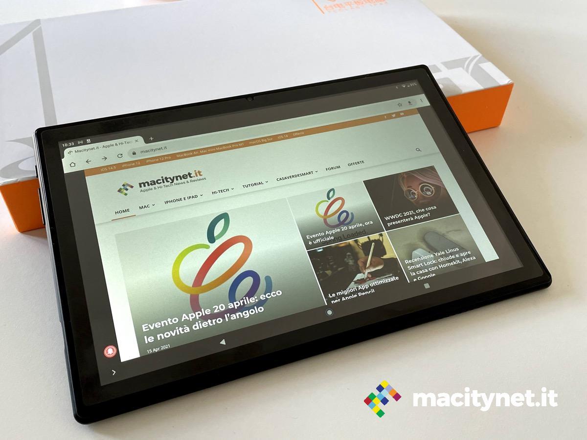 Recensione Teclast M40, per il tablet low cost questa volta è sì