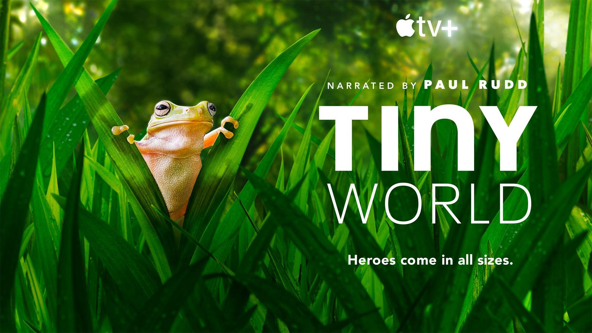 """""""Tiny World"""", un video mostra il dietro le quinte del documentario su Apple TV+"""
