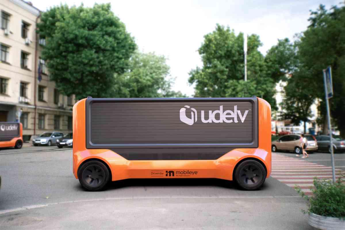 Intel Mobileye, servizio di consegna senza conducente nel 2023