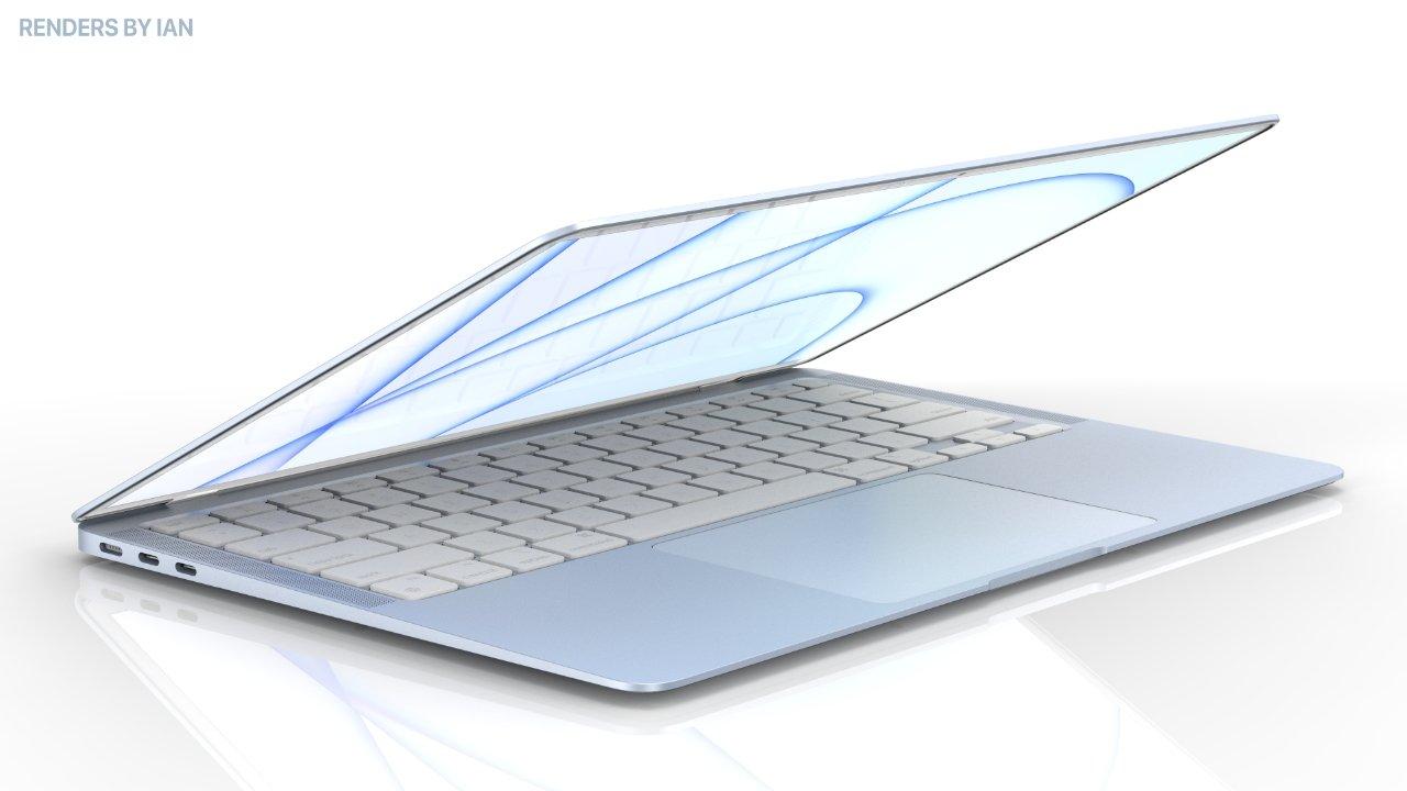 Futuri MacBook Air con scocca colorata come gli iMac M1?