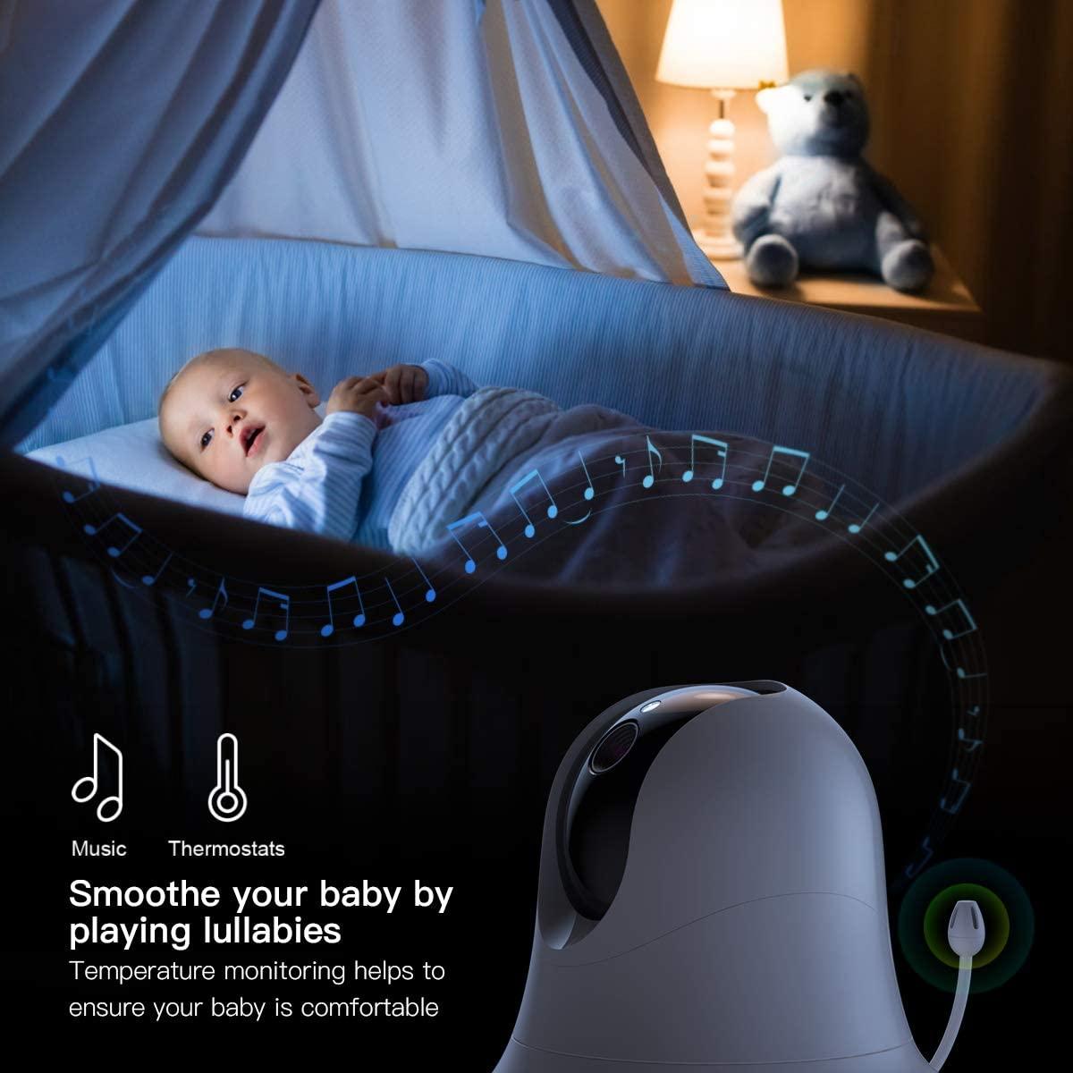 Il Baby Monitor CACAGOO è in offerta su Amazon a 58,64 euro
