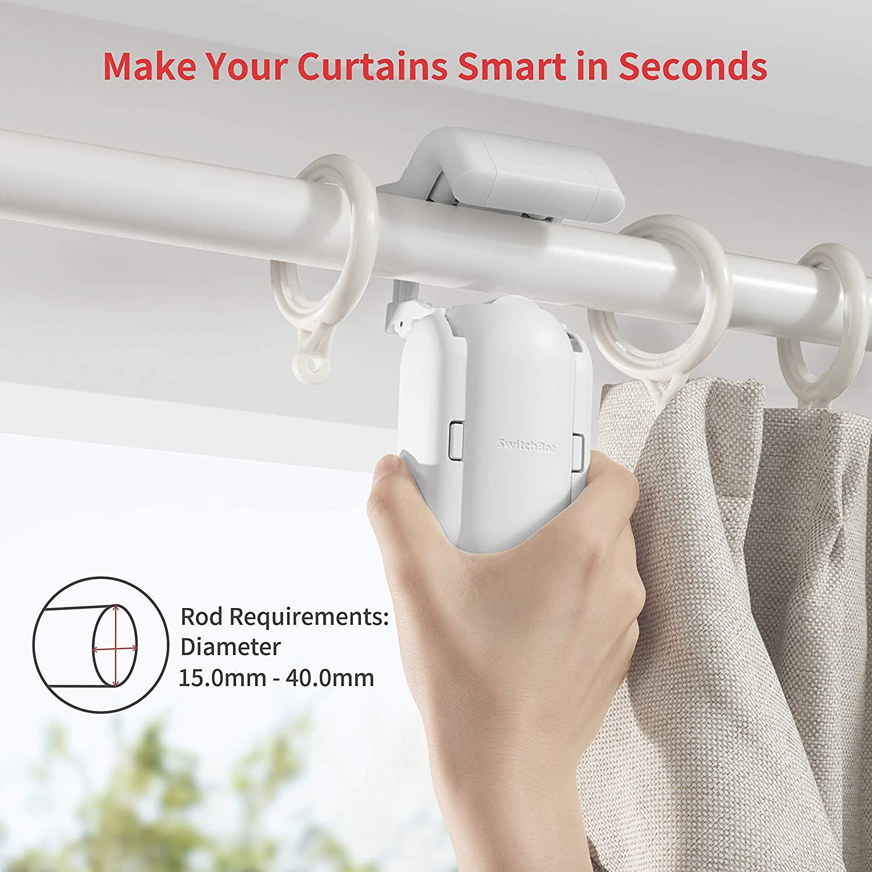 SwitchBot Curtain, il geniale sistema che apre automaticamente le tende in offerta a 55 euro
