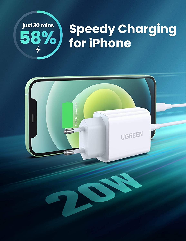 Il caricabatterie veloce per iPhone che state cercando, sconto coupon: 12,59 euro