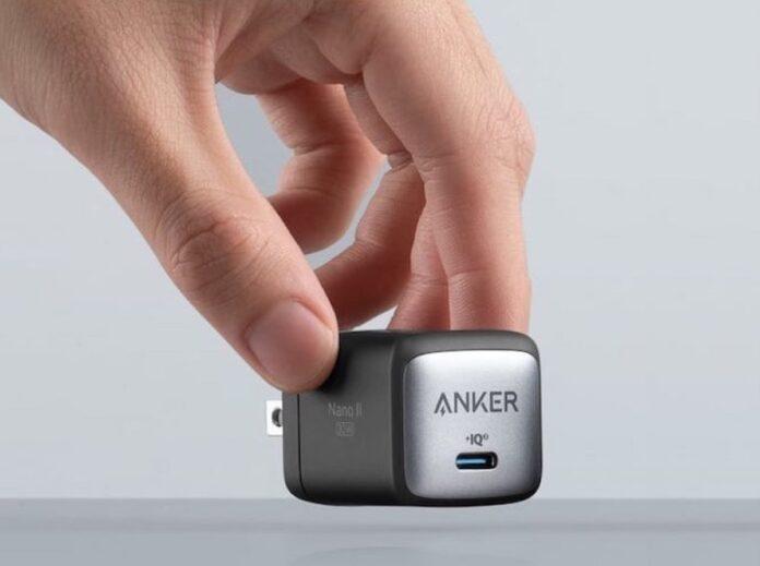 Anker, gli alimentatori GaN piccoli efficienti