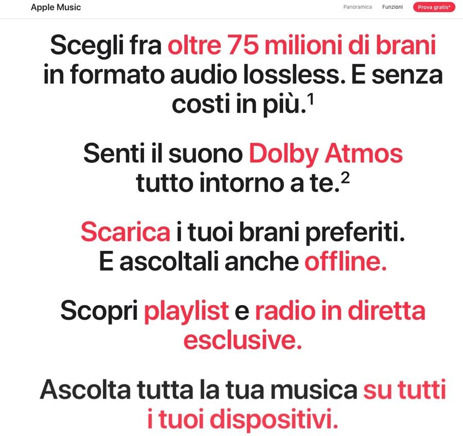 Apple Music annuncia Audio Spaziale con Dolby Atmos