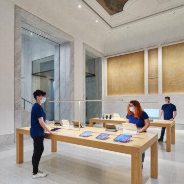 Apple Store Via del Corso apre mercoledì 27 maggio: la fotogalleria