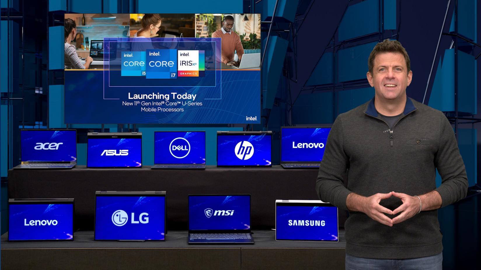 Nuove CPU di 11a generazione Intel Core e altre novità al Computex