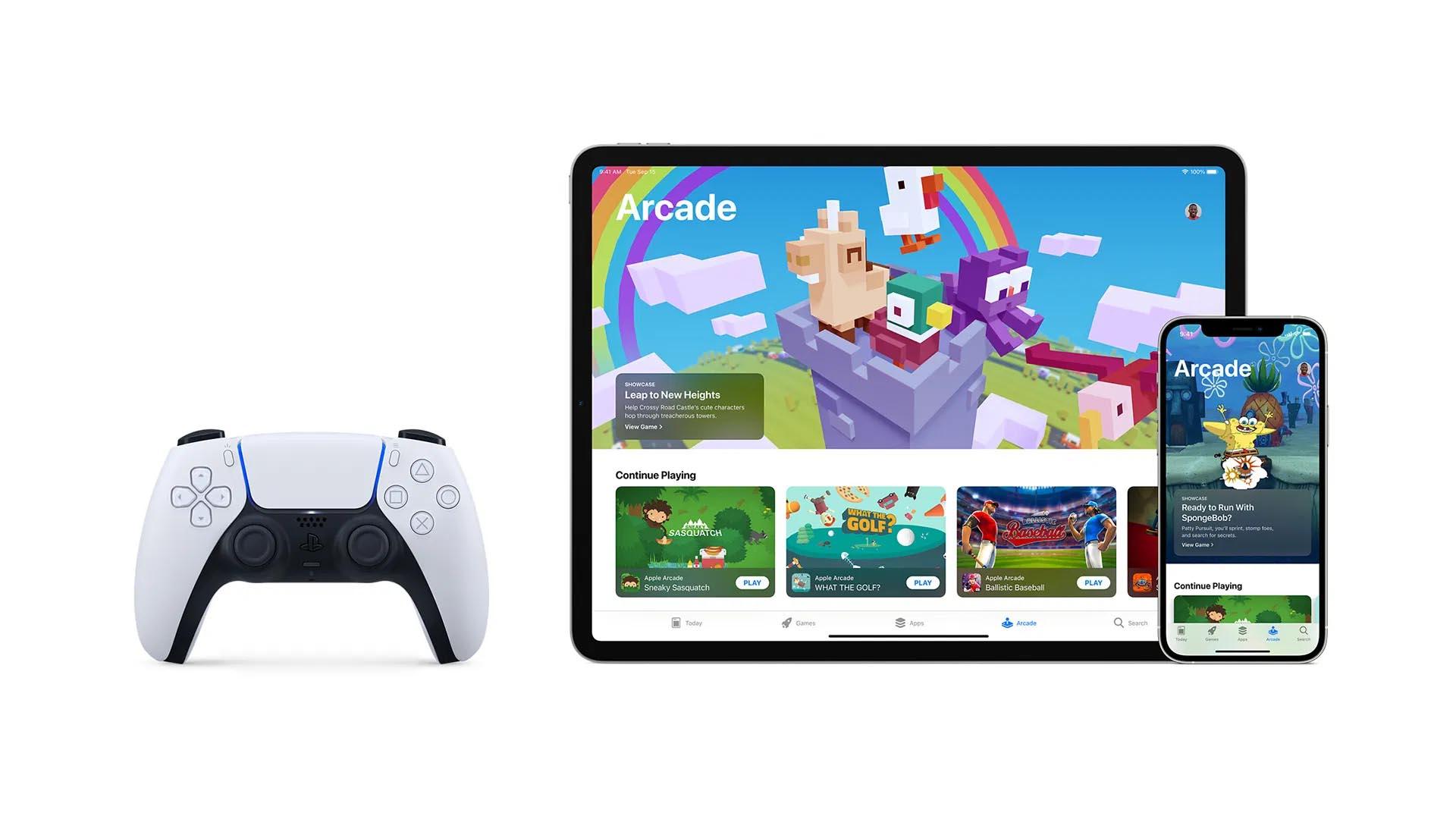 Il gamepad Sony PlayStation DualSense in vendita su Apple Store