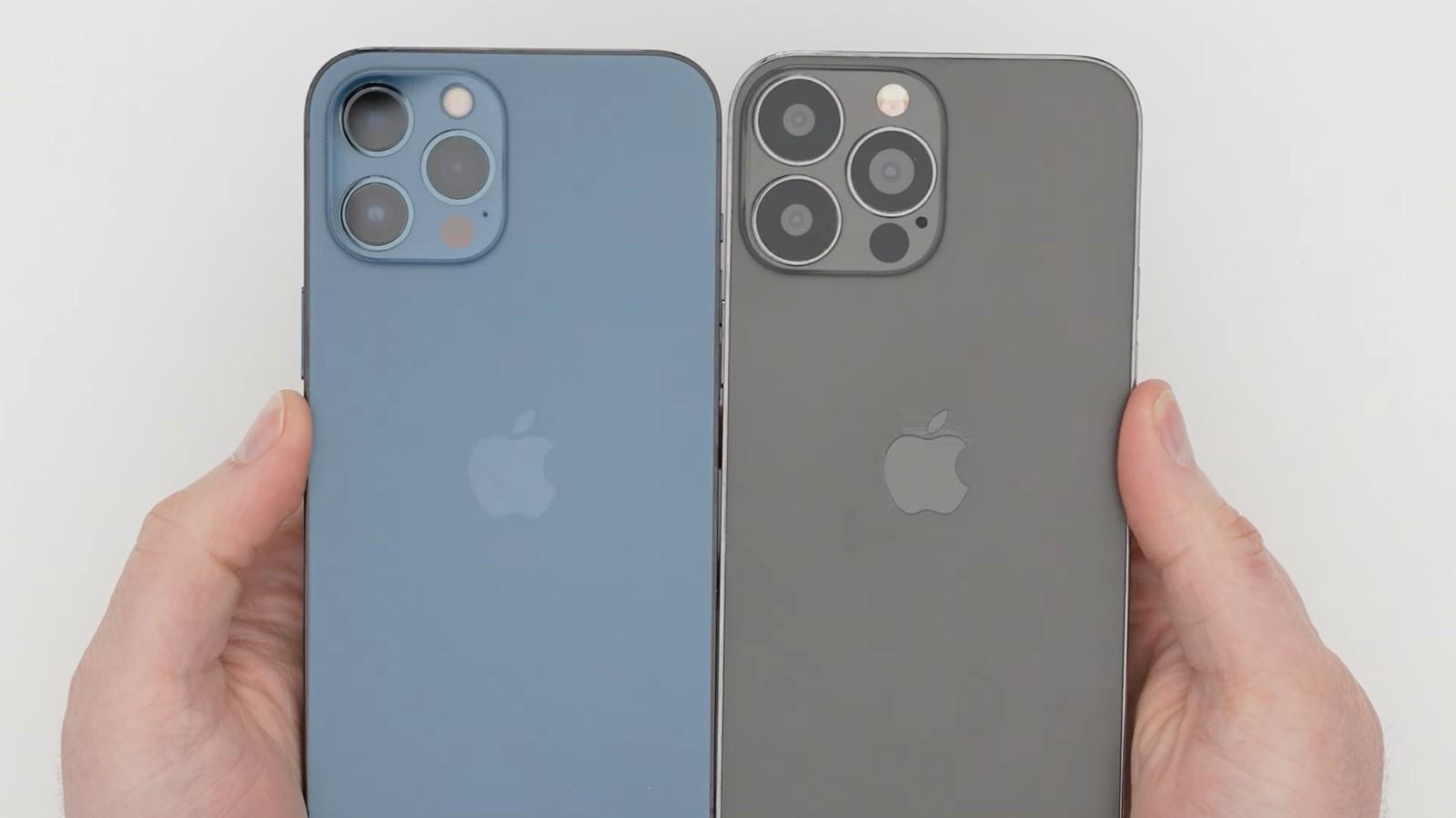 iPhone 13, la presunta replica da esposizione mostra un notch più piccolo