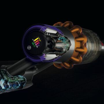 Dyson V15 Detect termina la polvere con tecnologia e laser