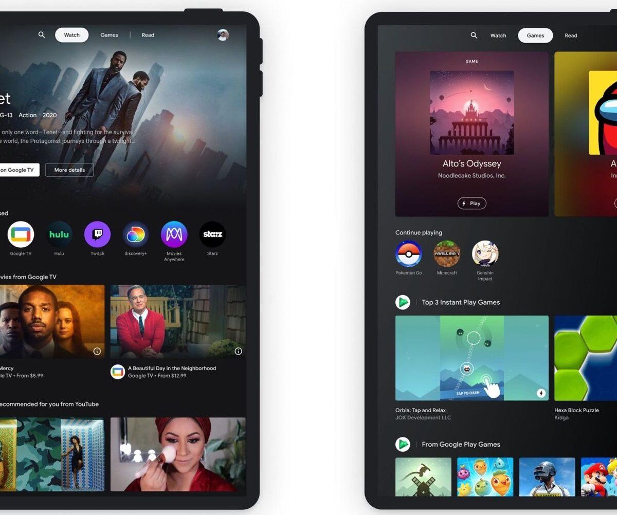 Google si è ricordata dei tablet Android, pronta l'interfaccia rivoluzionaria