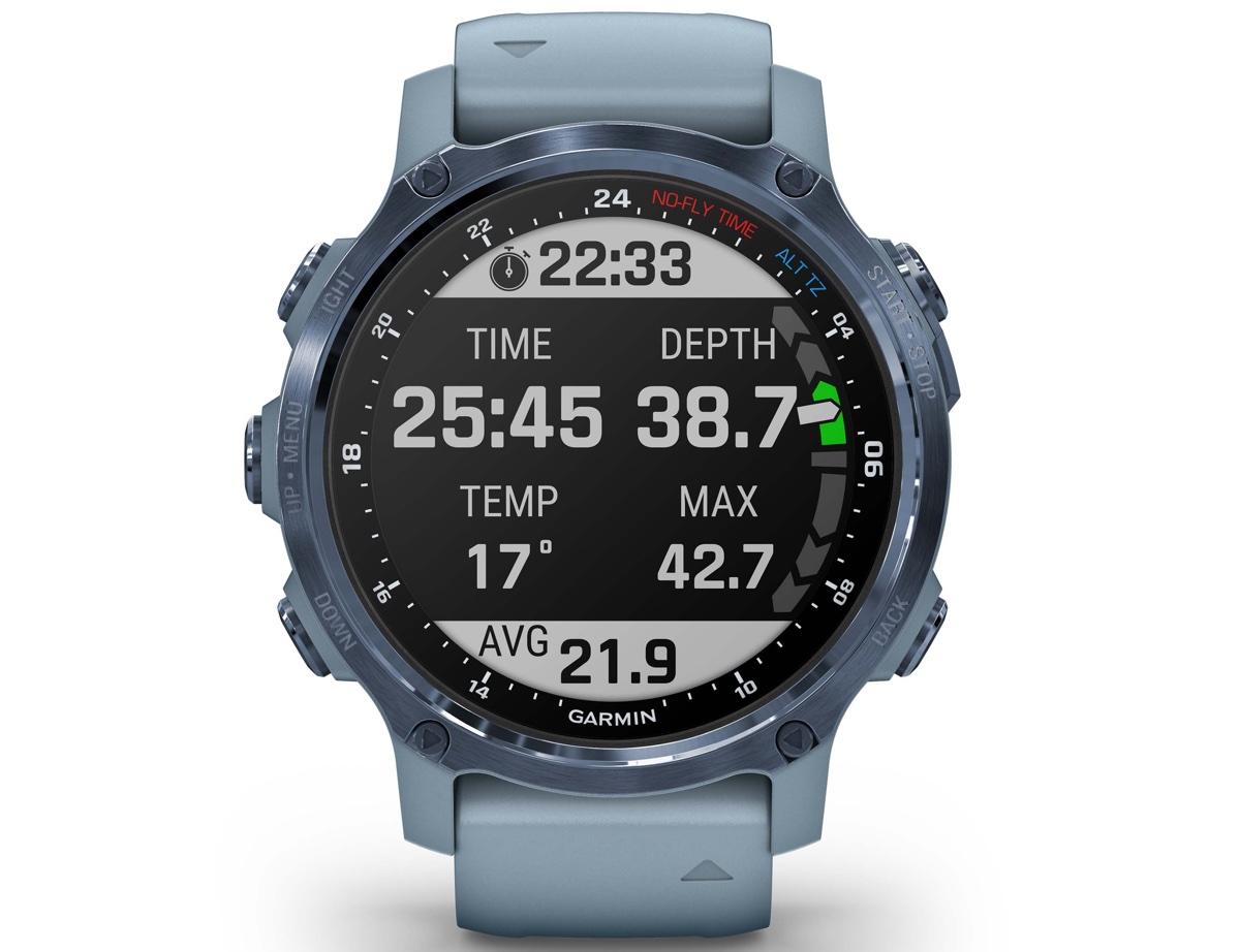 Garmin Descent Mk2S è lo smartwatch per immersioni