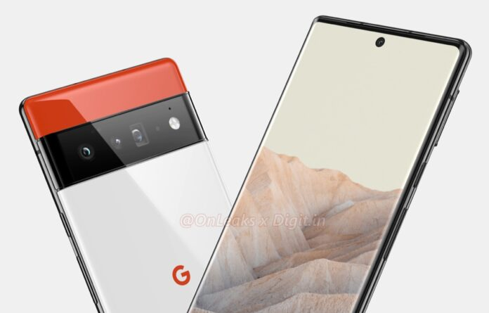 Google Pixel 6, i render puntano a schermo curvo e tripla fotocamera