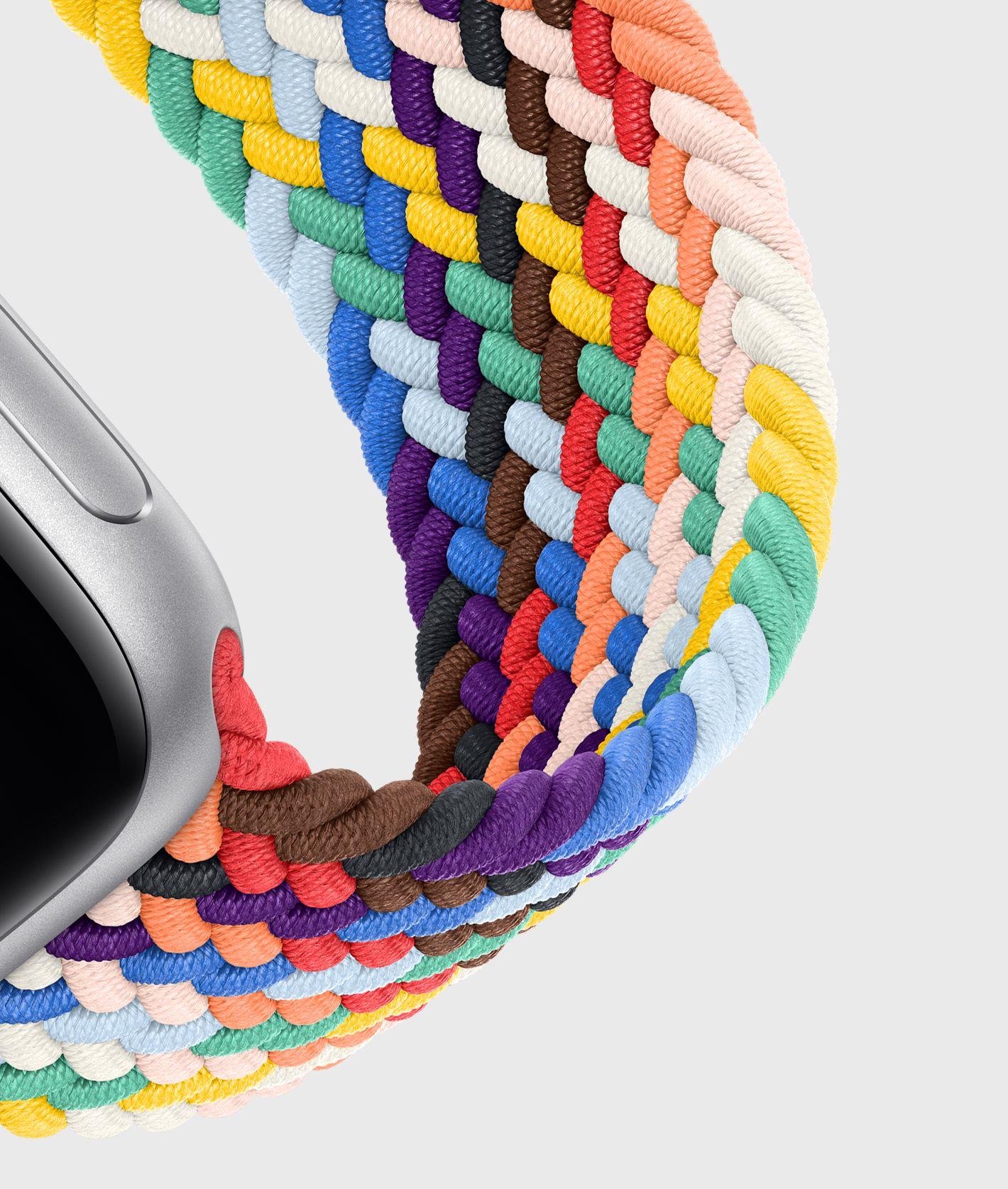 Apple Watch, i nuovi cinturini Pride Edition