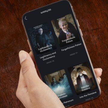 """L'app """"Harry Potter Fan Club"""" è disponibile in Italia"""