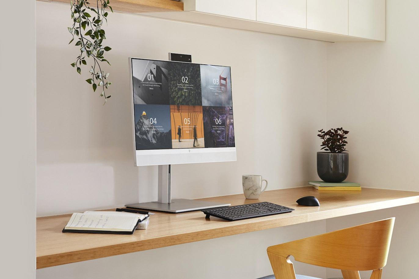 HP presenta il concorrente di iMac M1